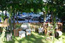 In pictures: Alpro's garden oasis with Luna Cinema