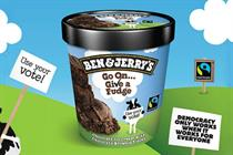 Ben & Jerry's encourages Londoners to 'give a fudge' via sampling events