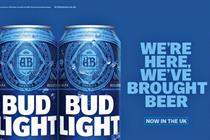 Bud Light announces 'We're Here' UK tour