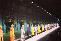 Behind the scenes: Mulberry fashion show at The Printworks
