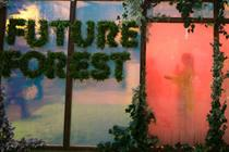 Watch: Bompas & Parr's Future Forest at Westfield