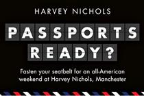 Harvey Nichols and American Airlines create USA-themed events