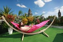 Now TV opens nudist sun terrace in central London