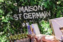 Inside Maison St-Germain pop-up