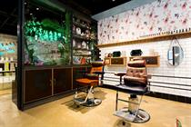 New Ted Baker store features barber, beauty spot and utilises VR technology