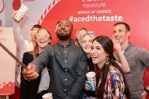 Coca-Cola pop-up invites consumers to create own beverages
