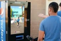 Pepsi creates interactive vending machine