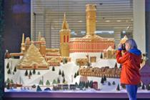 Lost London gingerbread Christmas scene debuts in Selfridges
