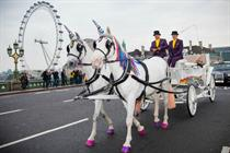 Behind the Scenes: Three Mobile's unicorn-themed cab rides