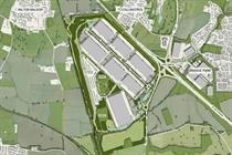 Plans submitted for Northampton strategic rail freight interchange