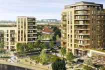 Plans submitted for 2,900 homes alongside commercial uses on former London industrial estate
