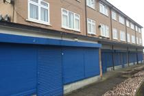 Case study: Converting empty shops to homes