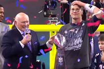 Patriots' stunning upset delivers more than 100M viewers