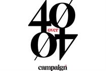 Open for entry: Campaign US launches and expands annual 40 Over 40 Awards