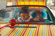 Using clowns in a safety tech ad? That's just silly!