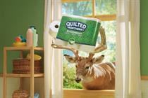 Quilted Northern taps woodland creatures for eco-friendly ads