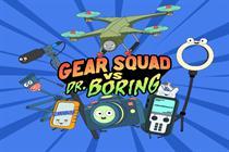 Wistia makes B2B marketing fun in 'Gear Squad vs. Dr. Boring'