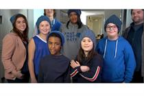 Lion Brand Yarn collects hats to combat hate