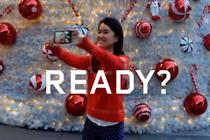 Lenovo summons selfies for holiday campaign