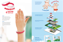 Why a wristband helps kids when arthritis is Ouchie!