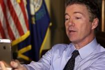 Rand Paul takes to Snapchat for interview