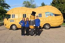 Inside Mr. Peanut's 'NUTmobile' Instagram account