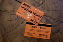 Big Buck Hunter and Busch Beer want you to save wildlife by shooting deer