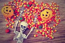 Candy corn doesn't advertise, right?