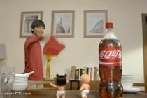 Coca-Cola gives Chinese New Year characters the Santa treatment