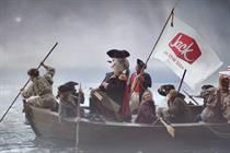Jack in the Box spoofs Founding Fathers in regional Super Bowl ad