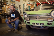 The first Honda in America gets an extreme makeover in weekly web series