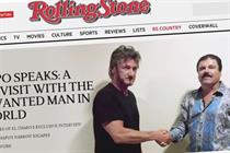 When storytellers become the story: Sean Penn and Rolling Stone