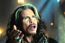 Steven Tyler 'Rocks the Rainbow' in Skittles Super Bowl ad