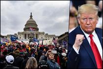 Social media platforms clamp down on Trump