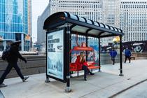 Jackson Hole morphs Chicago bus shelters into ski lifts