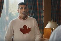 John Hamm embodies the right amount of cultural appropriation in new SkipTheDishes spot