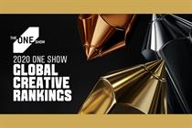 David Miami and Burger King crowned with top honors in The One Show 2020 Global Creative Rankings
