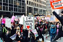 Museums around the world crowdsource Women's March signs