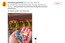 How Sour Patch Kids became the most popular snack brand on TikTok
