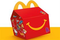 Turner Duckworth redesigns iconic McDonald's Happy Meal box