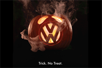 In the UK, Greenpeace harpoons VW with Halloween ad