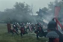 Top Games' Super Bowl ad: Big armies, tiny story