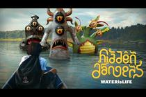 Deutsch warns of invisible water monsters with VR game