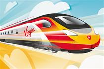 "Virgin Trains ""fly Virgin Trains"" by Elvis Communications"