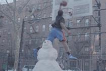 Foot Locker 'snow dunk' by  BBDO New York