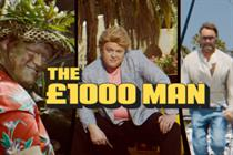 Moneysupermarket.com 'the £1,000 man' by Mother