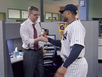 ESPN 'handshakes' by Wieden & Kennedy New York