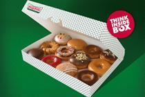 Krispy Kreme UK 'think inside the box' by Addiction