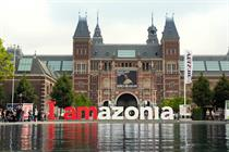 "Greenpeace ""iAmsterdam becomes iAmazonia"" by Duval Guillaume"