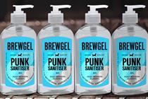 "BrewDog ""Punk Sanitiser"" by Uncommon Creative Studio"
